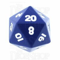 TDSO Metal Spectrum Blue Finish D20 Dice - Discontinued