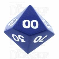 TDSO Metal Spectrum Blue Finish Percentile Dice - Discontinued