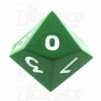 TDSO Metal Spectrum Green Finish D10 Dice - Discontinued