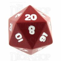 TDSO Metal Spectrum Red Finish D20 Dice - Discontinued