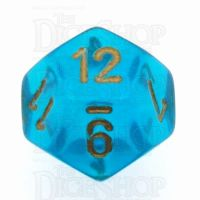 Chessex Borealis Teal D12 Dice