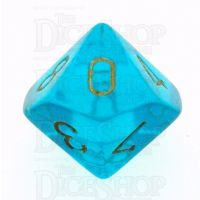 Chessex Borealis Teal D10 Dice