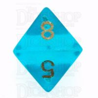Chessex Borealis Teal D8 Dice
