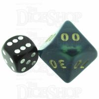 D&G Interferenz Green JUMBO 34mm Percentile Dice