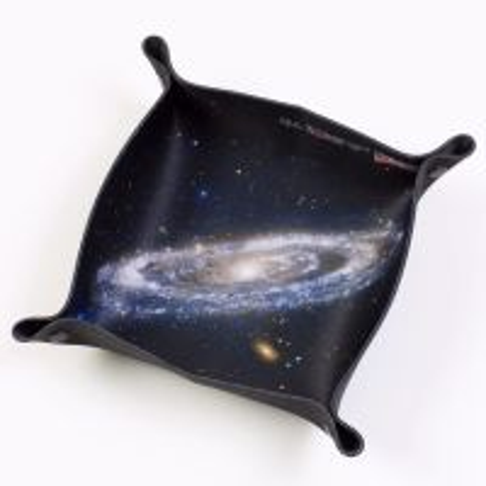 Folding Dice Tray - Space - Andromeda