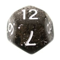 TDSO Glitter Green D12 Dice - Discontinued