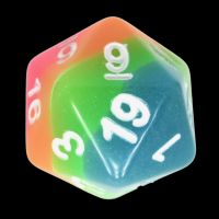 TDSO Layer Candy Glow In The Dark D20 Dice